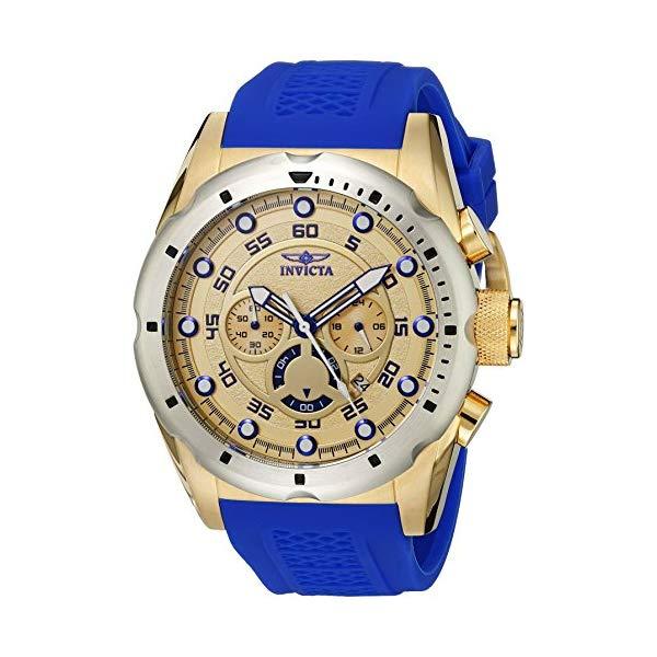 インビクタ 腕時計 INVICTA インヴィクタ スピードウェイ メンズ 男性用 20307 Invicta Men's 20307 Speedway Stainless Steel Watch With Blue PU Band