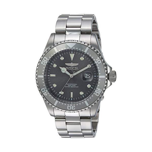 インビクタ 腕時計 INVICTA インヴィクタ プロダイバー メンズ 男性用 22050 Invicta Men's Pro Diver Quartz Diving Watch with Stainless-Steel Strap, Silver, 14 (Model: 22050)