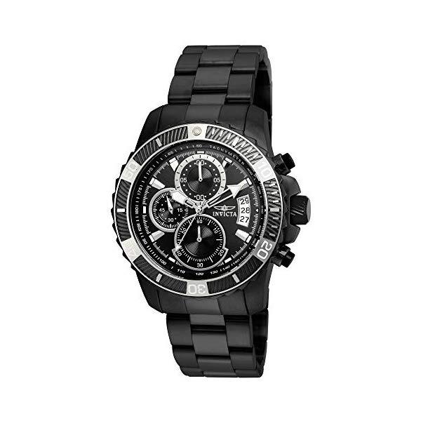 インビクタ 腕時計 INVICTA インヴィクタ プロダイバー メンズ 男性用 22417 Invicta Men's Pro Diver Quartz Watch with Stainless-Steel Strap, Black, 22 (Model: 22417)