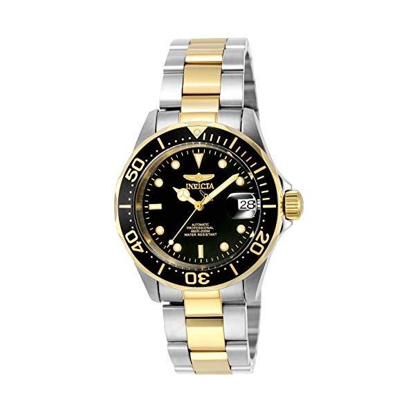 インビクタ 腕時計 INVICTA インヴィクタ プロダイバー メンズ 男性用 8927 Invicta Men's 8927 Pro Diver Collection Automatic Watch, Gold-Tone/Black