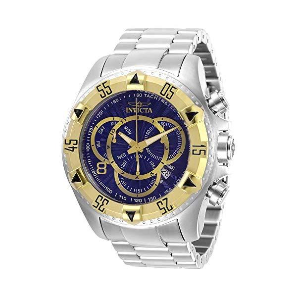 インビクタ 腕時計 INVICTA インヴィクタ エクスカーション メンズ 男性用 29635 Invicta Men's Excursion Quartz Stainless-Steel Strap, Silver, 26 Casual Watch (Model: 29635)