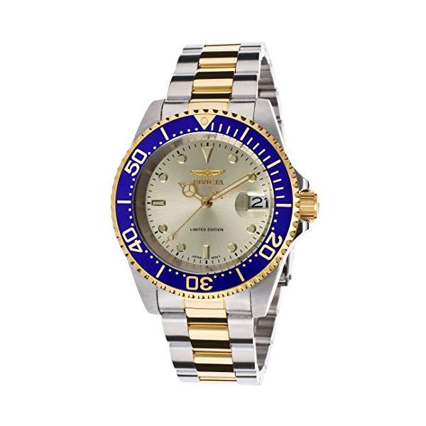 インビクタ 腕時計 INVICTA インヴィクタ プロダイバー メンズ 男性用 ILE8928OBA Invicta Ile8928oba Men's Ltd. Ed. Pro Diver Auto Two-Tone Stainless Steel Gold-Tone Dial Watch