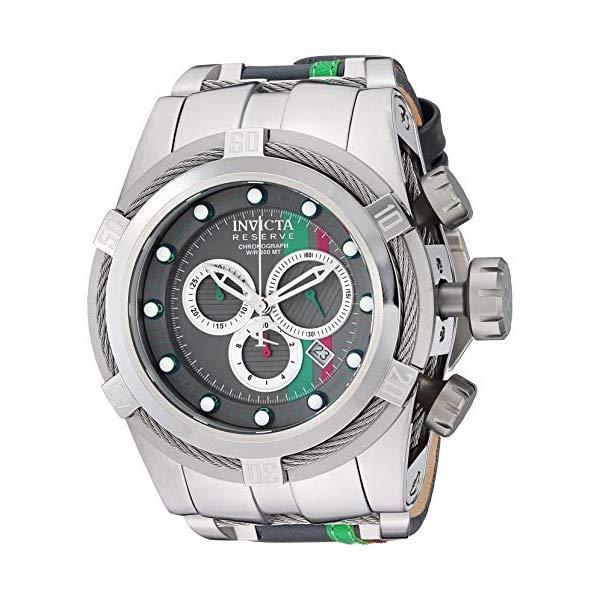 インビクタ 腕時計 INVICTA インヴィクタ リザーブ メンズ 男性用 26470 Invicta Men's 26473 Reserve Quartz Chronograph Black, Orange, Silver Dial Watch
