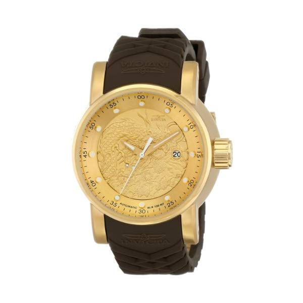 インビクタ 腕時計 INVICTA インヴィクタ S1ラリー メンズ 男性用 12790 Invicta Mens 12790 S1 Rally Yakuza Automatic Goldtone and Brown Rubber Watch