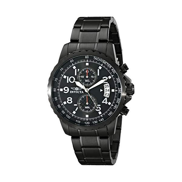 インビクタ 腕時計 INVICTA インヴィクタ スペシャリティ メンズ 男性用 13787 Invicta Men's 13787 Specialty Black Ion-Plated Stainless Steel Watch