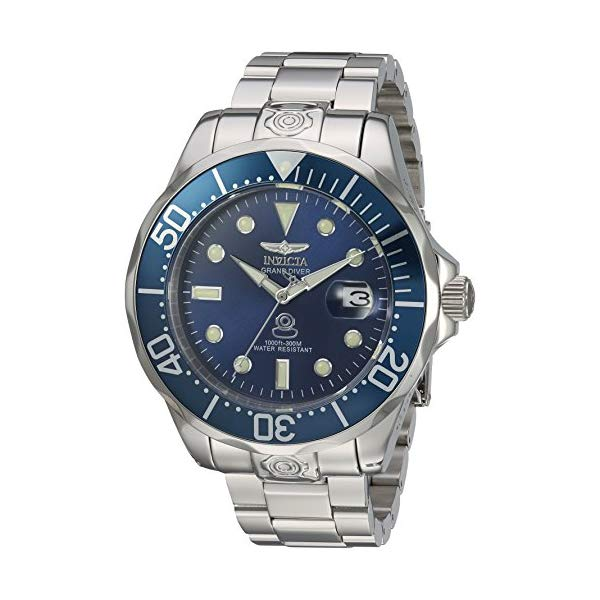 インビクタ 腕時計 INVICTA インヴィクタ プロダイバー メンズ 男性用 16036 Invicta Men's 'Pro Diver' Automatic Stainless Steel Diving Watch, Silver-Toned (16036)