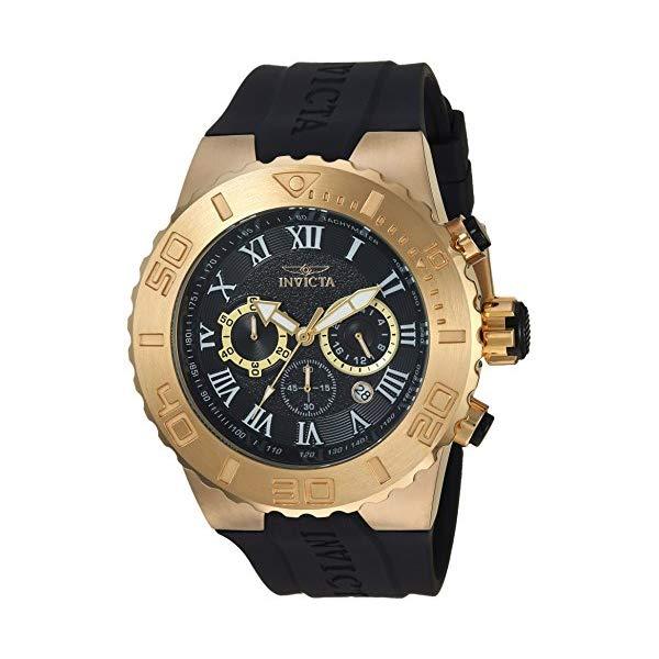 インビクタ 腕時計 INVICTA インヴィクタ プロダイバー メンズ 男性用 24777 Invicta Men's Pro Diver Stainless Steel Quartz Watch with Polyurethane Strap, Black