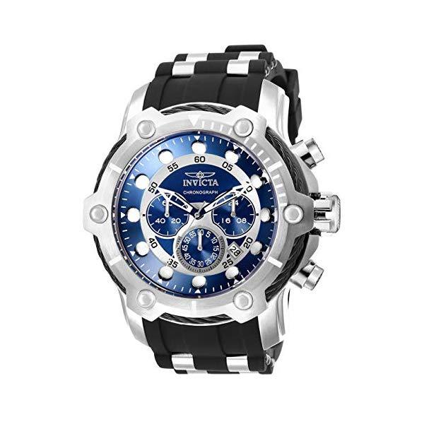 インビクタ 腕時計 INVICTA インヴィクタ ボルト メンズ 男性用 26750 Invicta Men's Bolt Stainless Steel Quartz Polyurethane Strap, Black, 30 Casual Watch (Model: 26750)