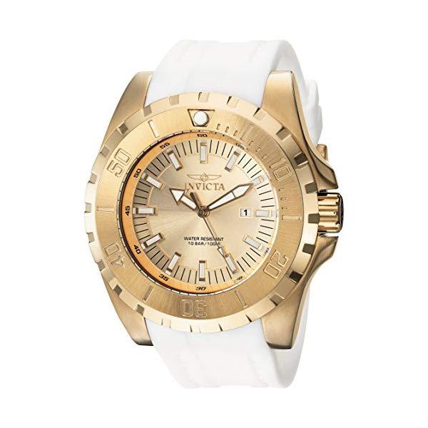 インビクタ 腕時計 INVICTA インヴィクタ プロダイバー メンズ 男性用 23740 Invicta Men's 'Pro Diver' Quartz Stainless Steel and Polyurethane Casual Watch, Color:Gold (Model: 23740)