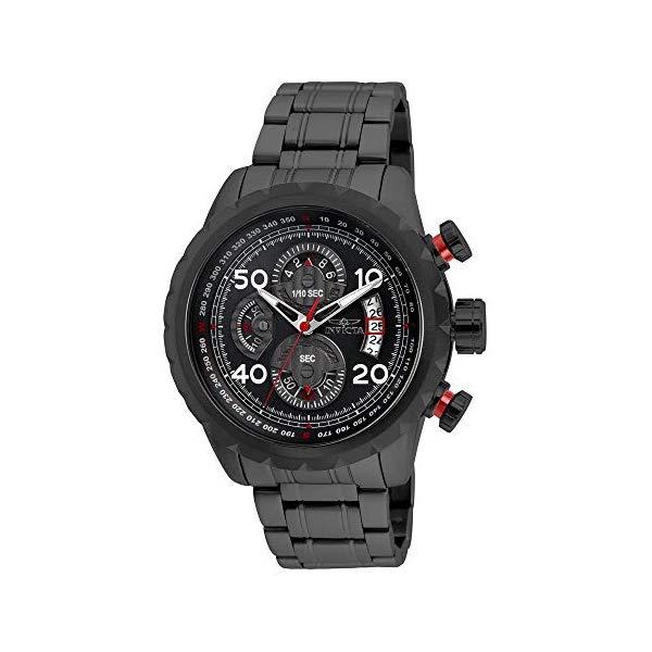 インビクタ 腕時計 INVICTA インヴィクタ アビエーター メンズ 男性用 28155 Invicta Men's Aviator Quartz Watch with Stainless Steel Strap, Gray, 24 (Model: 28155)