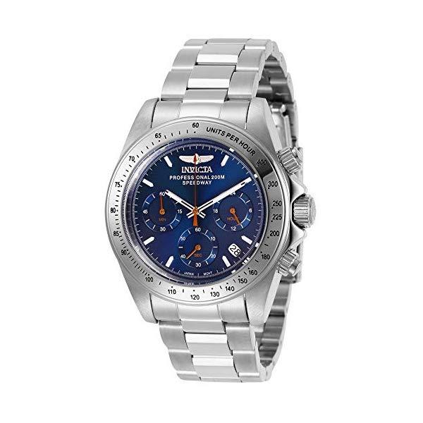 インビクタ 腕時計 INVICTA インヴィクタ スピードウェイ メンズ 男性用 27770 Invicta Men's Speedway Quartz Watch with Stainless Steel Strap, Silver, 20 (Model: 27770)