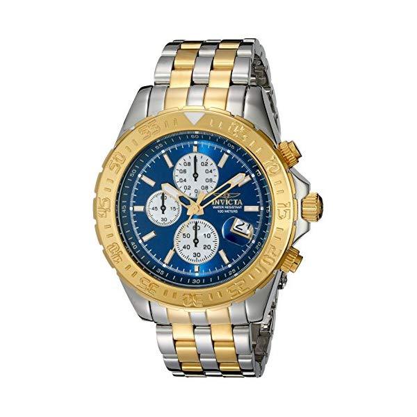 インビクタ 腕時計 INVICTA インヴィクタ アビエーター メンズ 男性用 18851 Invicta Men's Aviator Analog Display Japanese Chronograph Quartz Stainless Steel Watch