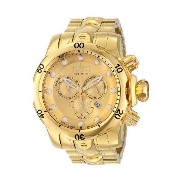 インビクタ 腕時計 INVICTA インヴィクタ ベノム メンズ 男性用 14503 Invicta Men's 14503 Venom Analog Display Swiss Quartz Gold Watch