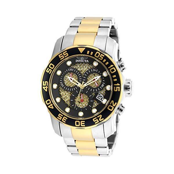 インビクタ 腕時計 INVICTA インヴィクタ プロダイバー メンズ 男性用 19839SYB Invicta Men's 19839SYB Pro Diver Swiss Quartz Two-Tone Stainless Steel Watch