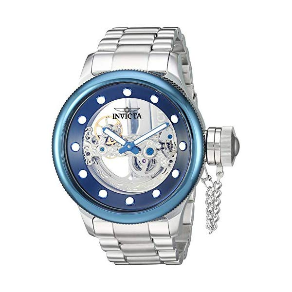 インビクタ 腕時計 INVICTA インヴィクタ ロシアンダイバー メンズ 男性用 26274 Invicta Men's Russian Diver Automatic-self-Wind Watch with Stainless-Steel Strap, Silver, 26.6 (Model: 26274)