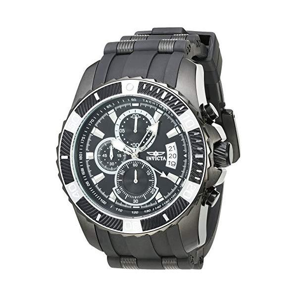 インビクタ 腕時計 INVICTA インヴィクタ プロダイバー メンズ 男性用 22433 Invicta Men's Pro Diver Stainless Steel Quartz Watch with Polyurethane Strap, Blue, 26