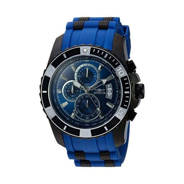 インビクタ 腕時計 INVICTA インヴィクタ プロダイバー メンズ 男性用 22432 Invicta Men's Pro Diver Stainless Steel Quartz Watch with Polyurethane Strap, Blue, 26
