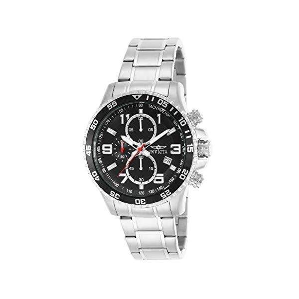 インビクタ 腕時計 INVICTA インヴィクタ スペシャリティ メンズ 男性用 14875 Invicta Men's 14875 Specialty Chronograph Black Textured Dial Stainless Steel Watch