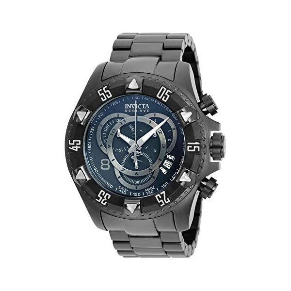 インビクタ 腕時計 INVICTA インヴィクタ エクスカーション リザーブ メンズ 男性用 6474 Invicta Men's 6474 Reserve Collection Excursion Chronograph Black Ion-Plated Watch