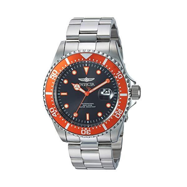 インビクタ 腕時計 INVICTA インヴィクタ プロダイバー メンズ 男性用 22022 Invicta Men's Pro Diver Quartz Diving Watch with Stainless-Steel Strap, Silver, 9 (Model: 22022)