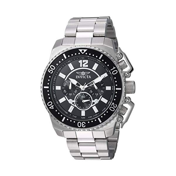 インビクタ 腕時計 INVICTA インヴィクタ プロダイバー メンズ 男性用 21952 Invicta Men's Pro Diver Quartz Watch with Stainless-Steel Strap, Silver, 24 (Model: 21952)