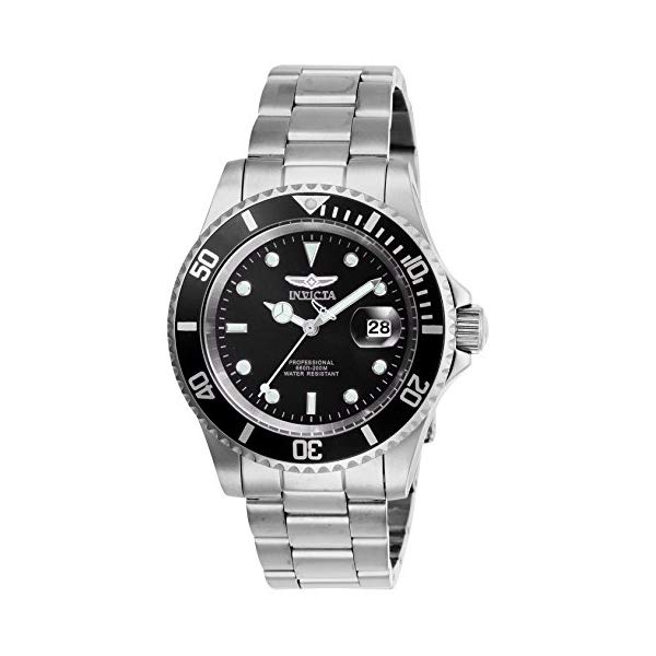 インビクタ 腕時計 INVICTA インヴィクタ プロダイバー メンズ 男性用 26970 Invicta Men's Pro Diver Quartz Watch with Stainless Steel Strap, Silver, 20 (Model: 26970)