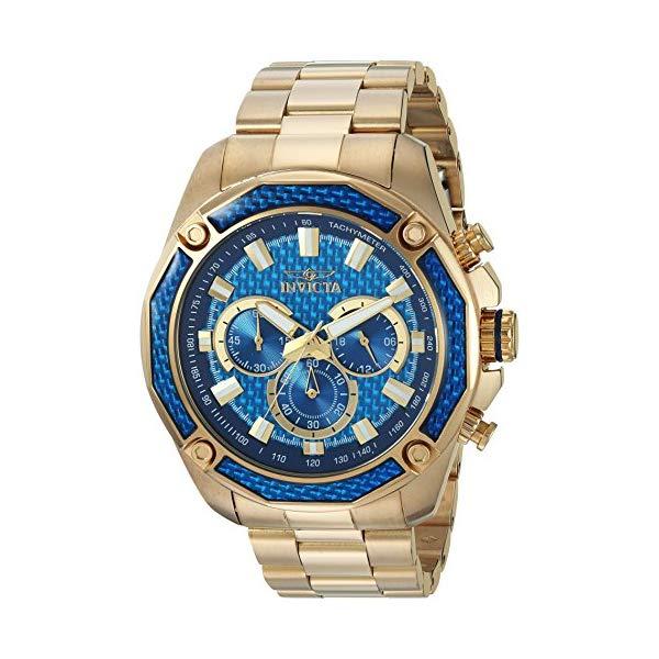 インビクタ 腕時計 INVICTA インヴィクタ アビエーター メンズ 男性用 22805 Invicta Men's 'Aviator' Quartz Stainless Steel Casual Chronograph Watch