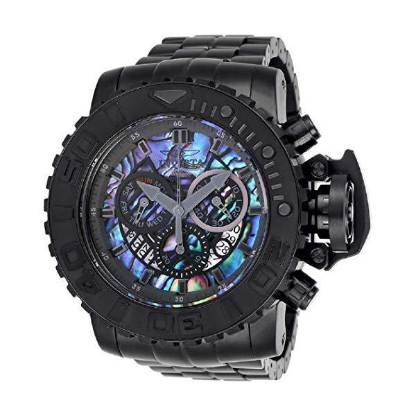 インビクタ 腕時計 INVICTA インヴィクタ シーハンター メンズ 男性用 26414 Invicta Men's 58mm Sea Hunter Chronograph Abalone Dial Steel Bracelet Watch