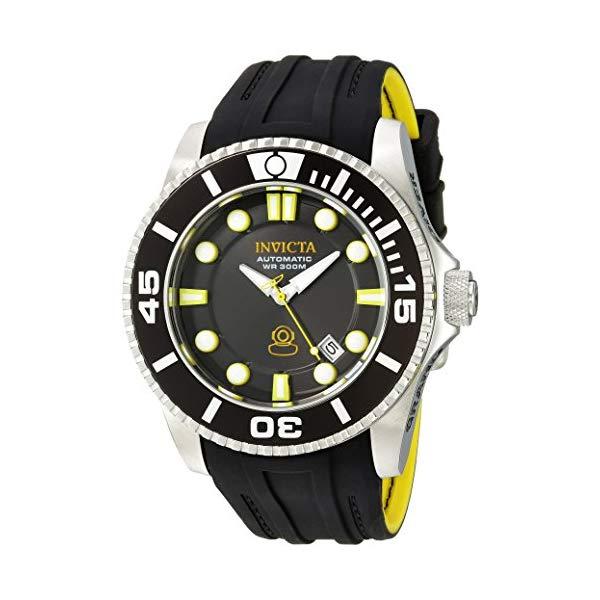 インビクタ 腕時計 INVICTA インヴィクタ プロダイバー メンズ 男性用 20199 Invicta Men's Pro Diver Stainless Steel Automatic-self-Wind Diving Watch with Silicone Strap, Black, 25 (Model: 20199)