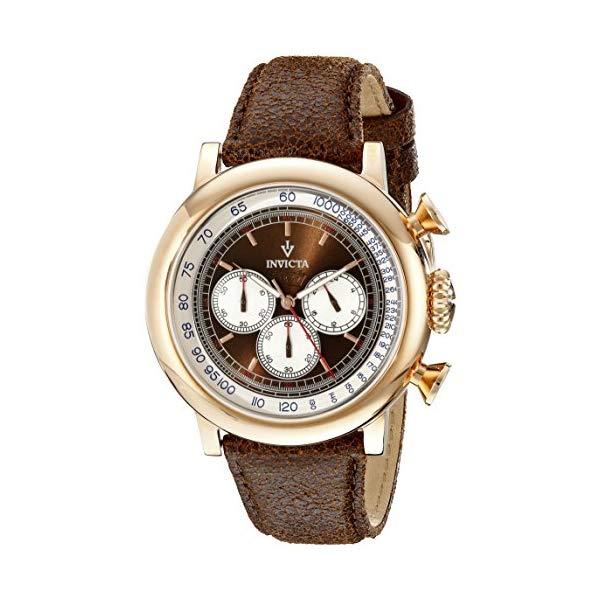 インビクタ 腕時計 INVICTA インヴィクタ ビンテージ メンズ 男性用 13059 Invicta Men's 13059 Vintage Analog Display Japanese Quartz Brown Watch