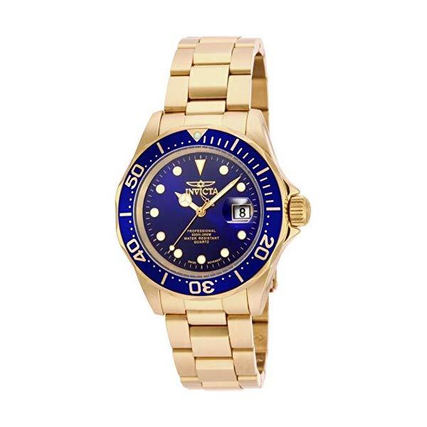 インビクタ 腕時計 INVICTA インヴィクタ プロダイバー メンズ 男性用 17058 Invicta Men's 17058 Pro Diver 18k Gold Ion-Plated Stainless Steel Watch