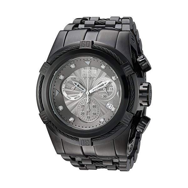 """インビクタ 腕時計 INVICTA インヴィクタ ボルト メンズ 男性用 23915 Invicta Men""""s Bolt Quartz Watch with Stainless-Steel Strap, Black, 36.8 (Model: 23915)"""