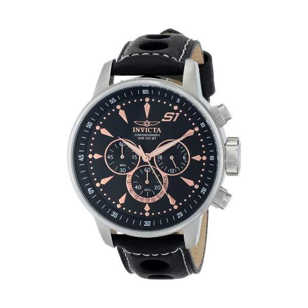 インビクタ 腕時計 INVICTA インヴィクタ S1ラリー メンズ 男性用 16012 Invicta Men's 16012 S1 Rally Analog Display Japanese Quartz Black Watch