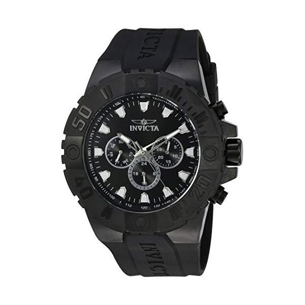 インビクタ 腕時計 INVICTA インヴィクタ プロダイバー メンズ 男性用 23973 Invicta Men's Pro Diver Stainless Steel Quartz Watch with Polyurethane Strap, Black, 32 (Model: 23973)