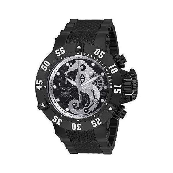 インビクタ 腕時計 INVICTA インヴィクタ サブアクア メンズ 男性用 26232 Invicta Men's Subaqua Quartz Watch with Stainless-Steel Strap, Black, 27.5 (Model: 26232)