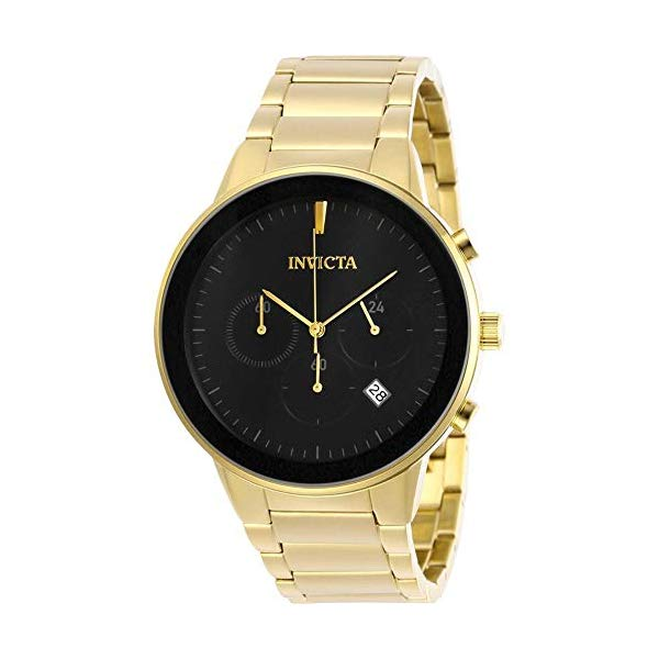 インビクタ 腕時計 INVICTA インヴィクタ スペシャリティ メンズ 男性用 29480 Invicta 29480 Men's Specialty Black Dial Bracelet Chronograph Watch