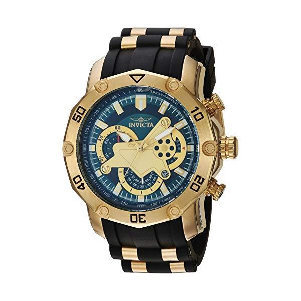 インビクタ 腕時計 INVICTA インヴィクタ プロダイバー メンズ 男性用 23425 Invicta Men's Pro Diver Stainless Steel Quartz Watch with Silicone Strap, Black, 26 (Model: 23425)