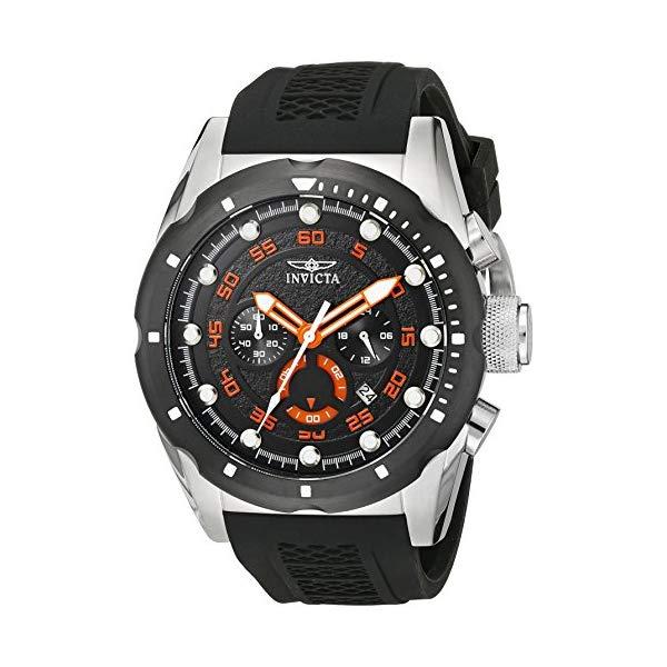 インビクタ 腕時計 INVICTA インヴィクタ スピードウェイ メンズ 男性用 20305 Invicta Men's 20305 Speedway Stainless Steel Watch with Black Band