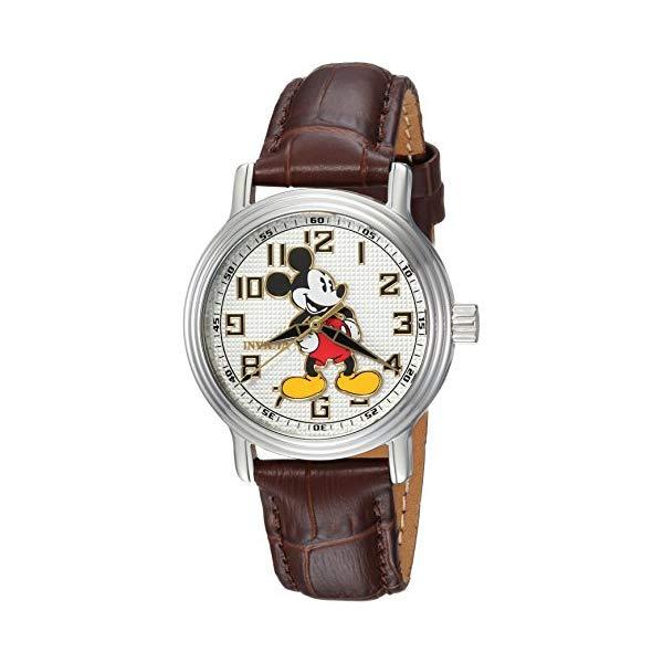 インビクタ INVICTA インヴィクタ 腕時計 ウォッチ 24548 Stainless ディズニー Brown, 限定 ミッキー Strap, レディース 女性用 Invicta Women's Disney Limited Edition Stainless Steel Analog-Quartz Watch with Leather Strap, Brown, 16 (Model: 24548), INTERIOR3I(家具雑貨):e494f759 --- ww.thecollagist.com