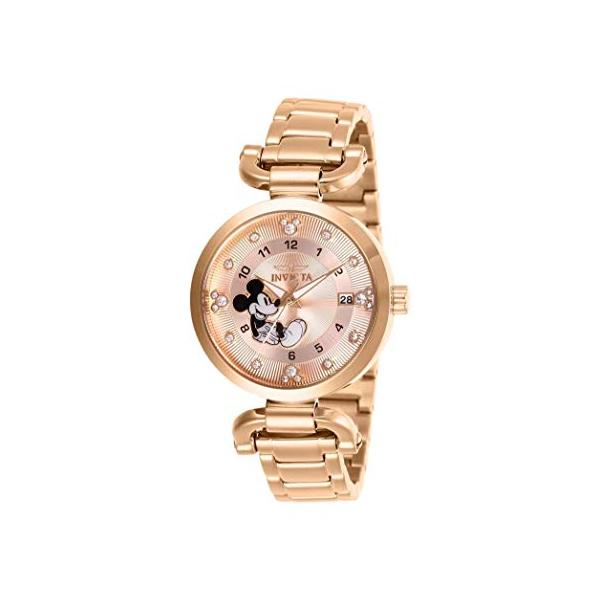インビクタ INVICTA インヴィクタ 腕時計 ウォッチ 27292 ディズニー 限定 ミッキー Invicta Disney Limited Edition Crystal Gold Dial Ladies Watch 27292