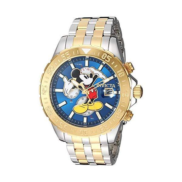 インビクタ INVICTA インヴィクタ 腕時計 ウォッチ 27375 ディズニー 限定 ミッキー メンズ 男性用 Invicta Men's Disney Limited Edition Quartz Watch with Stainless-Steel Strap, Two Tone, 22 (Model: 27375)