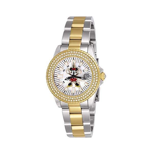 インビクタ INVICTA インヴィクタ 腕時計 ウォッチ 26742 ディズニー with 限定 (Model: ミニー 26742 レディース 女性用 Invicta Women's Disney Limited Edition Quartz Watch with Stainless Steel Strap, Two Tone, 16 (Model: 26742), スワンアンティークス:a2e9c104 --- ww.thecollagist.com