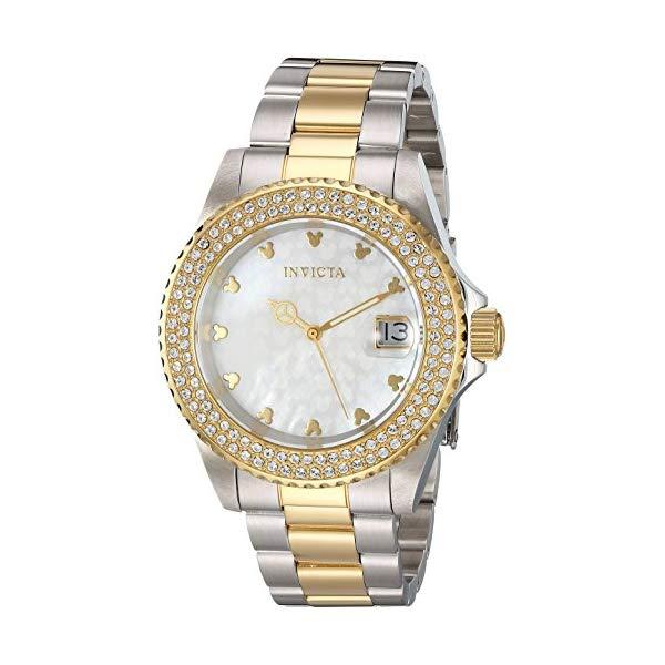 インビクタ INVICTA レディース インヴィクタ Watch (Model: 腕時計 ウォッチ 22732 ディズニー 限定 ミッキー レディース 女性用 Invicta Women's Disney Limited Edition Quartz Watch with Stainless-Steel Strap, Two Tone, 9 (Model: 22732), オオグチチョウ:fa791b76 --- ww.thecollagist.com