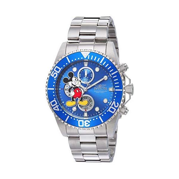 インビクタ INVICTA インヴィクタ 腕時計 ウォッチ 27387 ディズニー 限定 ミッキー メンズ 男性用 Invicta Men's Disney Limited Edition Quartz Watch with Stainless Steel Strap, Silver, 21.5 (Model: 27387)