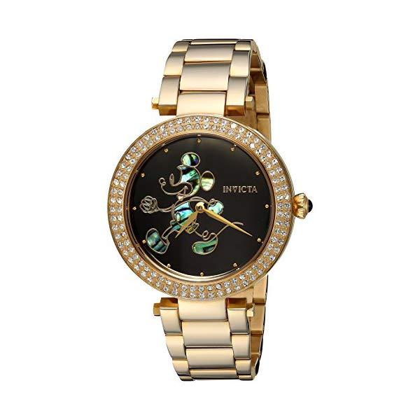 インビクタ インヴィクタ INVICTA インヴィクタ Invicta 腕時計 ウォッチ 23789 ディズニー 限定 Strap, ミッキー レディース 女性用 Invicta Women's Disney Limited Edition Quartz Watch with Stainless-Steel Strap, Gold, 18 (Model: 23789), 一流の品質:b2c2aa49 --- ww.thecollagist.com