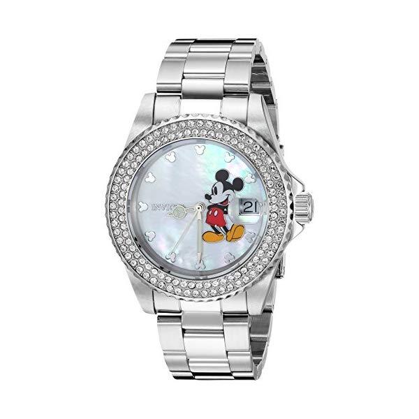 インビクタ INVICTA インヴィクタ 腕時計 ウォッチ 26238 ディズニー 限定 ミッキー レディース 女性用 Invicta Women's 'Disney Limited Edition' Quartz Stainless Steel Casual Watch