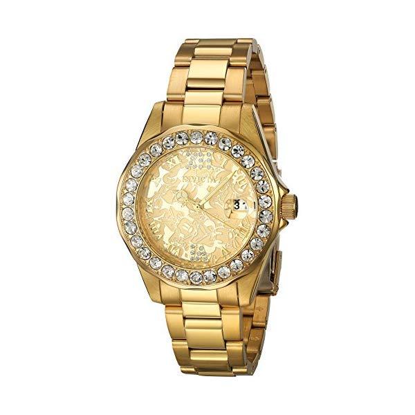インビクタ INVICTA インヴィクタ 腕時計 ウォッチ 22870 ディズニー インビクタ 限定 Edition ミニー Watch レディース 女性用 Invicta Women's Disney Limited Edition Quartz Watch with Stainless-Steel Strap, Gold, 18 (Model: 22870), シブヤク:c9e46745 --- ww.thecollagist.com