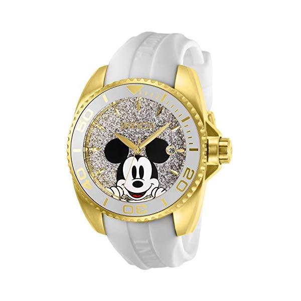 インビクタ レディース INVICTA インヴィクタ 腕時計 腕時計 ウォッチ 27379 ディズニー 限定 Silicone ミッキー レディース 女性用 Invicta Women's Disney Limited Edition Stainless Steel Quartz Watch with Silicone Strap, White, 20 (Model: 27379), 工具のプロショップ「ふどう」:54c80487 --- ww.thecollagist.com