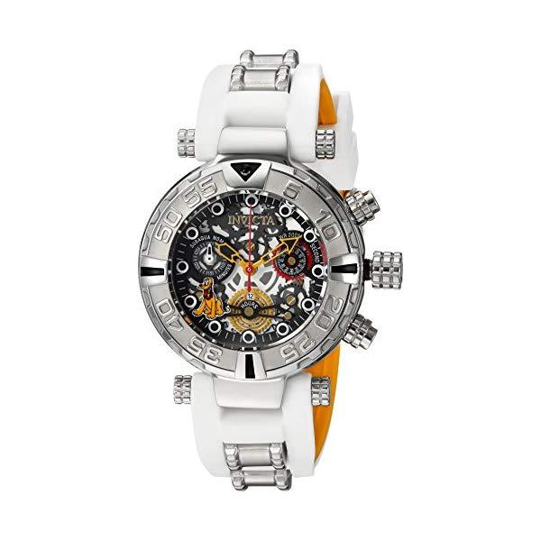 インビクタ INVICTA ディズニー インヴィクタ 24519) 腕時計 ウォッチ 24519 ディズニー Quartz 限定 プルート レディース 女性用 Invicta Women's Disney Limited Edition Stainless Steel Quartz Watch with Silicone Strap, White, 20 (Model: 24519), 日本最大級:46ebd169 --- ww.thecollagist.com