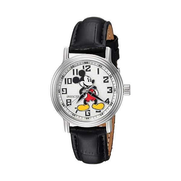 インビクタ Watch INVICTA インヴィクタ 腕時計 ウォッチ 24547 ディズニー with 限定 ミッキー ウォッチ レディース 女性用 Invicta Women's Disney Limited Edition Stainless Steel Analog-Quartz Watch with Leather Calfskin Strap, Black, 16 (Model: 24547), HALOA BOX ART:b93261a4 --- ww.thecollagist.com